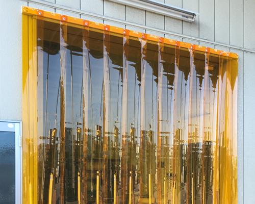 防虫用ビニールカーテン